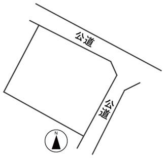 【区画図】55591 岐阜市大洞土地