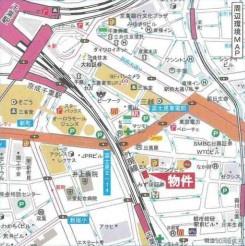 【地図】ワラビビル