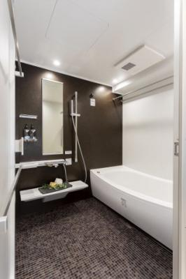 【浴室】ファミール六甲道