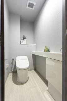 【トイレ】ファミール六甲道