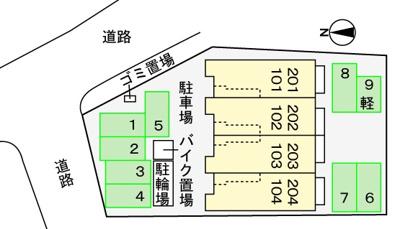 【区画図】シャンクレール