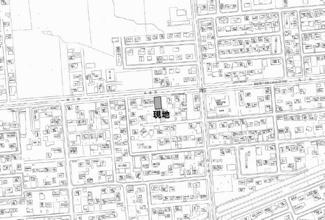 【地図】北央町 売土地