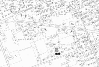 【地図】留辺蘂町旭1区 売土地