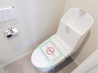 嬉しいシャワー付きトイレは標準装備です。