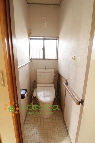 【トイレ】古河市大山 中古一戸建て