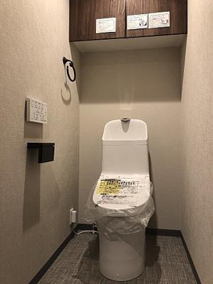 現代の必需品、シャワートイレを採用しました。
