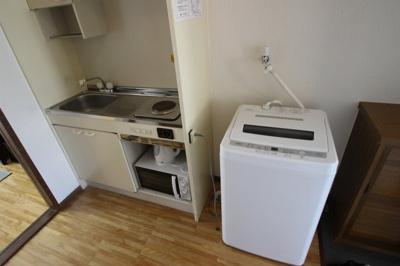 【キッチン】コーポ船越(マンスリー)