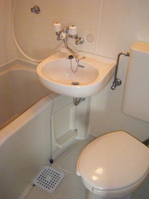 【浴室】ホワイトハイツ河南