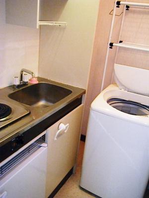 イメージ画像になります。洗濯機はありません。