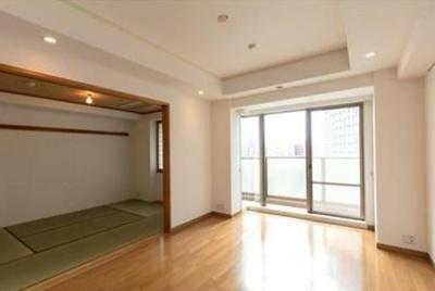 【居間・リビング】西新宿パークサイドタワー