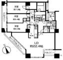 【最上階角部屋】西早稲田シティタワー