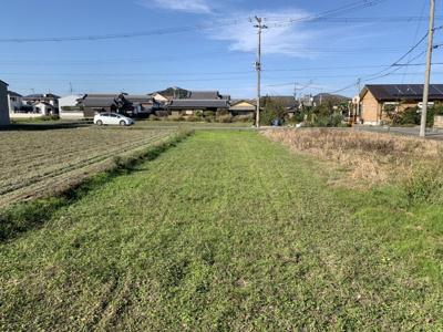 【前面道路含む現地写真】揖保郡太子町竹広/売土地
