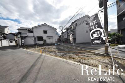 【外観】野田2丁目 新築戸建用地 ①号地
