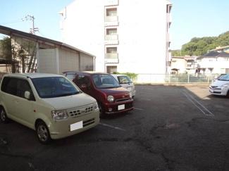 【駐車場】福岡マンション・