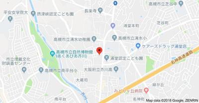 【地図】宮之川原サンハイツ