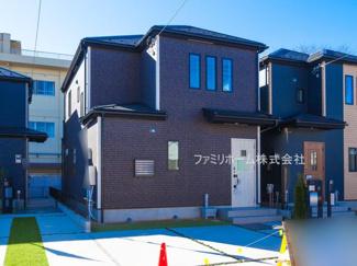 千葉市稲毛区小仲台 新築一戸建 ※令和3年2月撮影写真です。