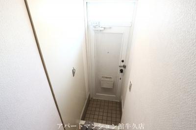 【玄関】ルーミー牛久43号館