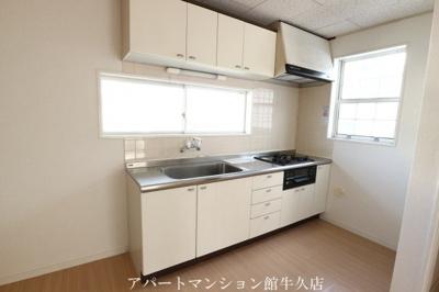 【キッチン】ルーミー牛久43号館