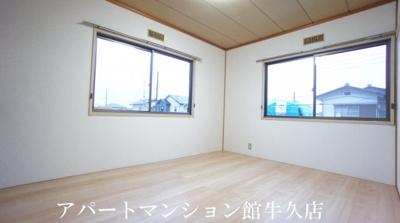 【寝室】アーバン牛久18号館