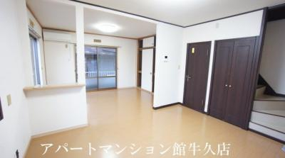 【居間・リビング】アーバン牛久18号館