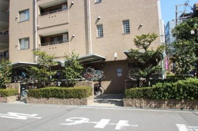 駐輪場の写真になります。 1世帯2台まで無料となっております。