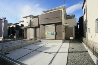 浜寺元町4丁 新築一戸建て  同等仕様設備の外観写真 現地建築中です