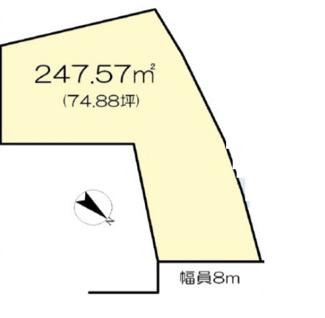 【土地図】守山市小島町 16号地 売土地