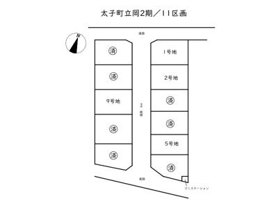 太子町立岡Ⅱ期/11区画
