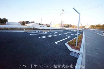 【駐車場】フェリチータ坂東B