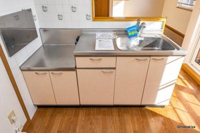キッチン 浄水器が使えます。