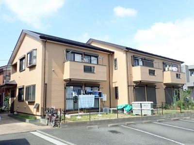 トレッサ横浜が近くて日々のお買物に便利な立地の2階建てアパート♪東急東横線「大倉山」駅より徒歩圏内です☆
