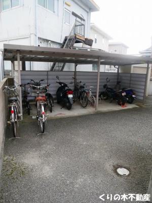 駐輪場あります