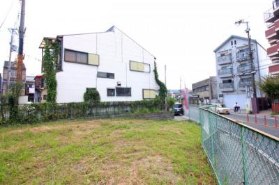 【外観】伏見区向島本丸町 注文建築 建築条件なし 土地