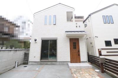 【外観】一乗寺清水町 5LDK 新築戸建