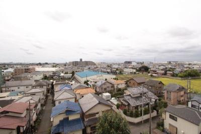7階からの展望です:三郷新築ナビで検索
