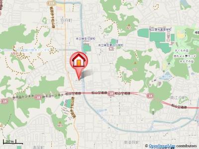 【地図】カルテット北斎院