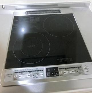 ※キッチンコンロ IH2口イメージ