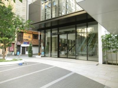 【エントランス】ブランズタワー御堂筋本町