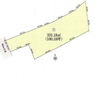 千葉市中央区登戸 土地 千葉駅 敷地面積約100坪の広大な土地!多様な建築プランに対応可能です!