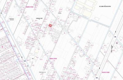 【地図】福田町古新田貸家