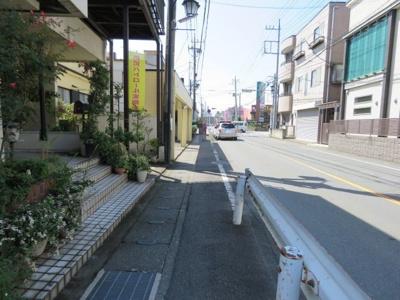 【前面道路含む現地写真】坂戸市千代田売地
