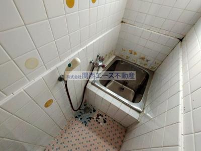 【浴室】瓢箪山町貸家