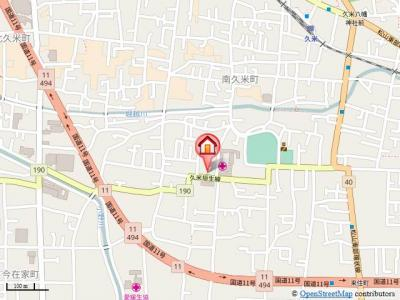 【地図】グレース87・