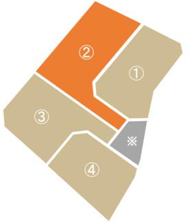 【土地図】びお御厨分譲4区画 ②号地