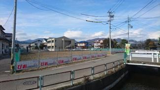 【前面道路含む現地写真】びお御厨分譲4区画 ②号地