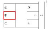 百石町 サンプラザ駐車場の画像