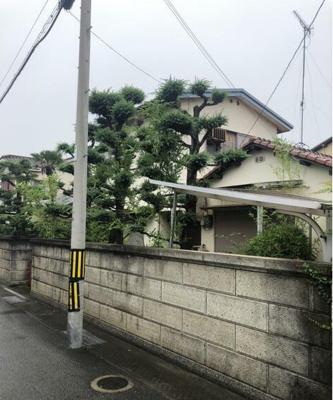 【前面道路含む現地写真】和歌山市葵町 売土地