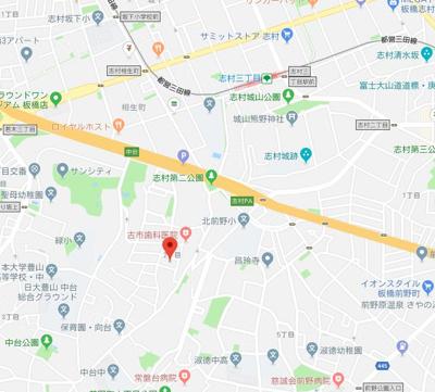 【地図】ディアコートイタバシ