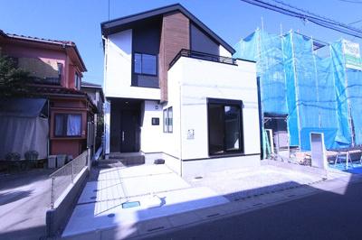 きれいな外観です:三郷新築ナビで検索