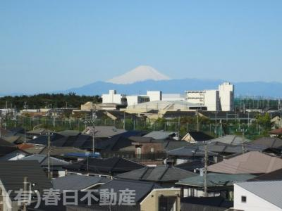 必見の眺望(快晴の日には富士山を臨みます)